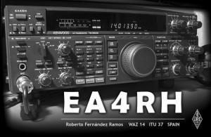 EA4RH QSL Card